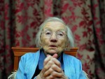Jessie Gallan on her 109th birthday