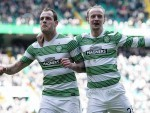 Anthony Stokes and Leigh Griffiths could both miss the match for very different reasons