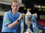 Willie get his hands on the Scottish Cup