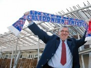 Caley Thistle fan David Stewart