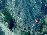 """The first images from the crash site show that the plane was """"pulverised"""" into tiny pieces."""