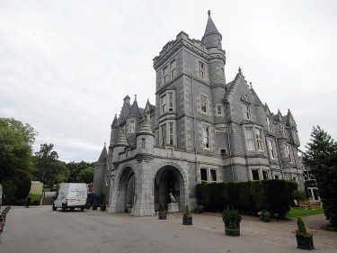 The dinner was held at Ardoe House Hotel