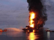 The fire broke out overnight at the Abkatun Permanente platform, located in the Campeche Sound, near the coast of the Mexican states of Campeche and Tabasco