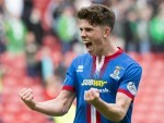 Ryan Christie has enjoyed an excellent season for the Caley Jags