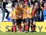 Partick Thistle's Stephen O'Donnell celebrates his goal