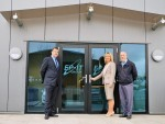 The EPIT management team: (from the left) general manager Martin Constable, financial director Alison Cox, and managing director Jim Craig