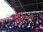 The Brora fans were sent home disappointed