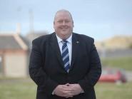 Highland League president Finlay Noble