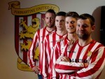 Formartine United unveil four new signings