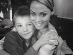 Julie Hughes with her son Josh
