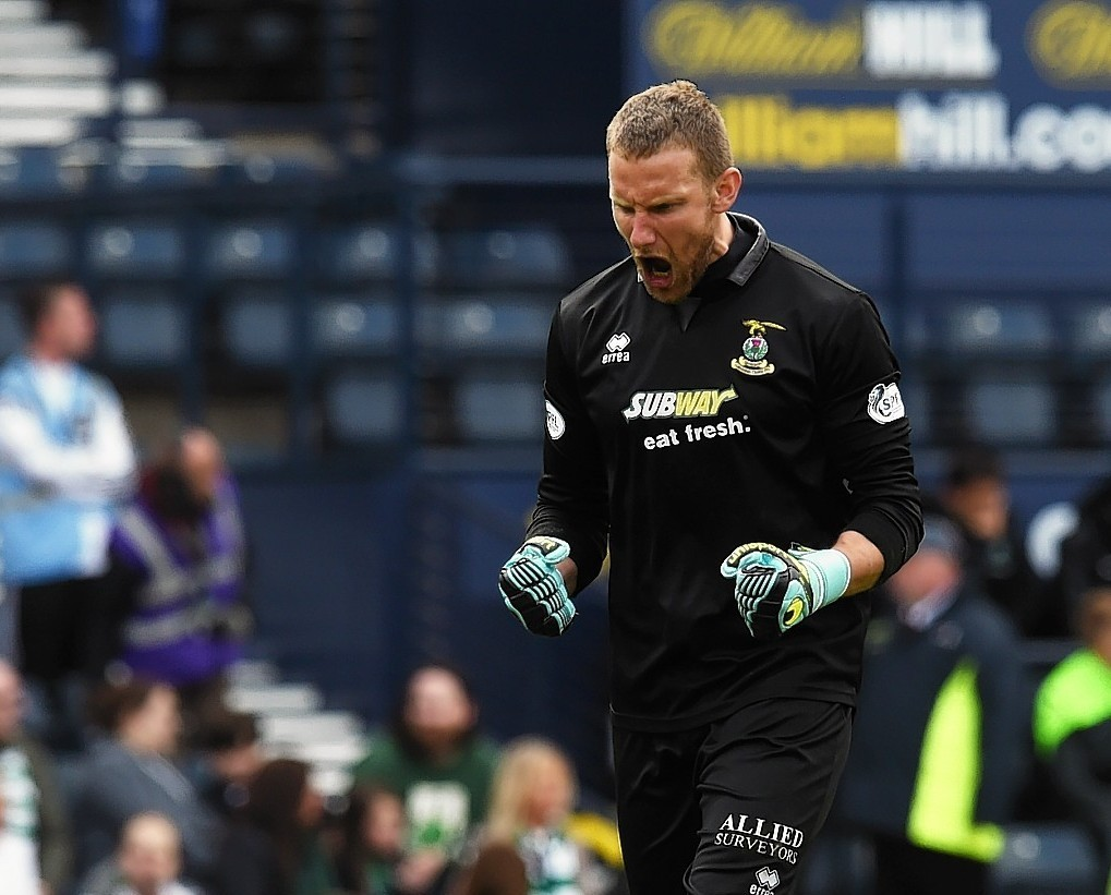 Scottish Cup final: Caley Thistle keeper looking to star 15 years after he SHOULD have played Hampden final