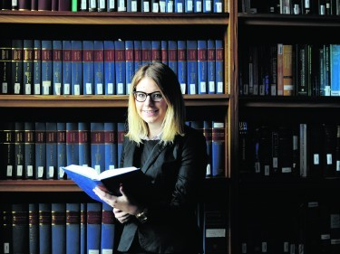 Laura Dunlop a trainee solicitor in dispute resolution with Aberdein Considine.