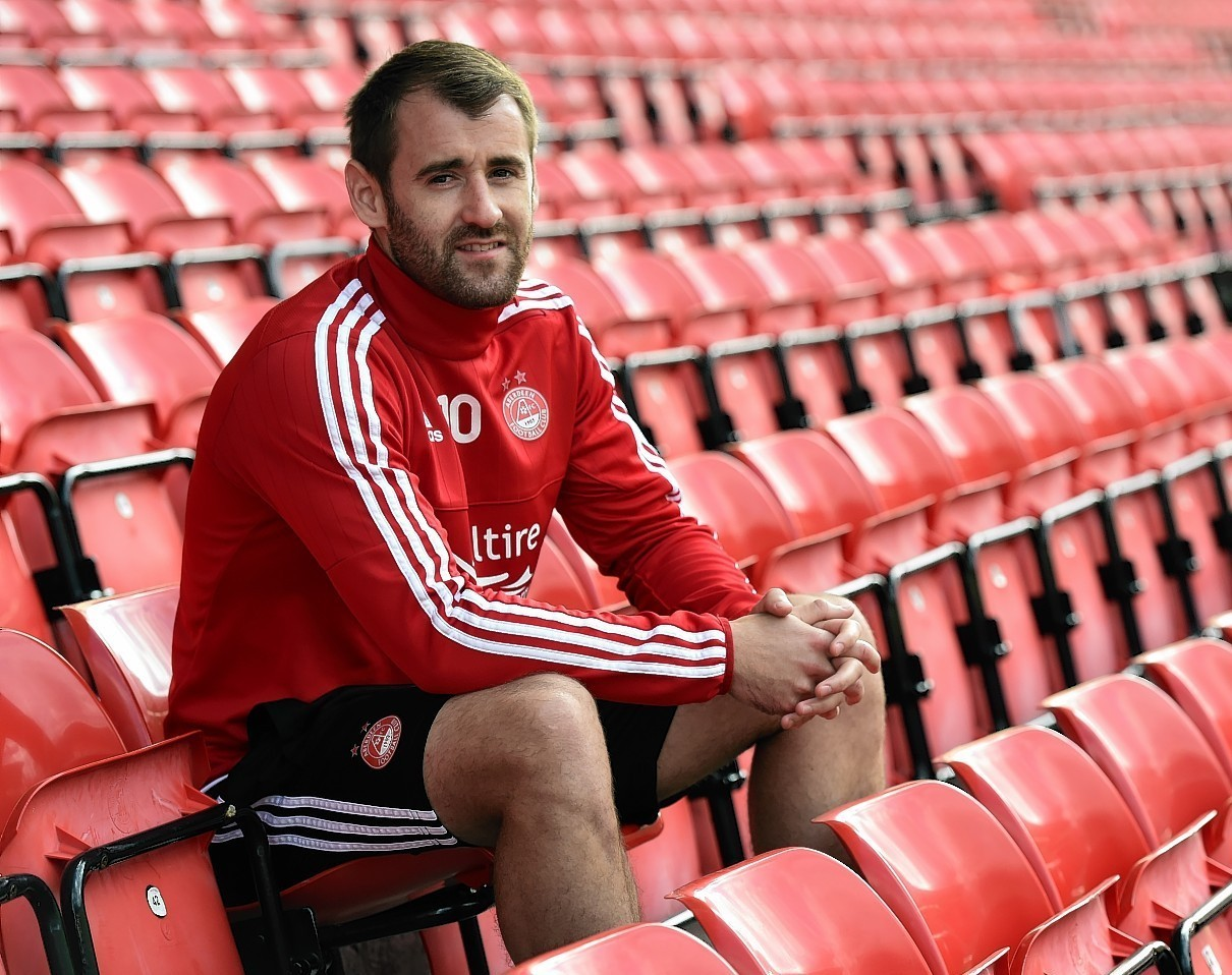 Niall McGinn: Dons can mount challenge in league and cups this season