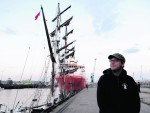"""The Tall Ship, """"Eye Of The Wind"""" with Captain Cornelius Greth"""
