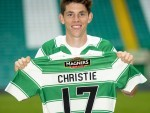 Delight for Ryan Christie as he is unveiled at Parkhead