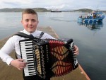 Kyle Rowan whose family come from Islay and Tiree