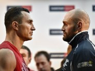 Wladimir Klitschko takes on Tyson Fury tonight