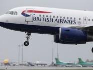 The passenger was on a British Airways plane