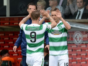 Leigh Griffiths has backed Scott Allan to impress tonight