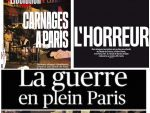 French papers reacted with shock ,disgust and anger