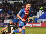 Iain Vigurs has enjoyed a successful return to Caley Thistle this season.
