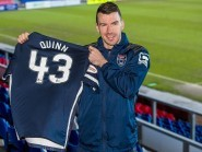 Quinn will wear the number 43 shirt for the Staggies