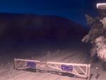 Snow gates closed on A93 at Braemar