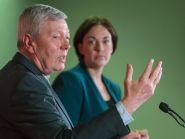 Alan Johnson and Kezia Dugdale campaigned on the EU referendum in Glasgow