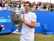 Andy Murray is one of five top-10 players who will feature at the Aegon Championships in June