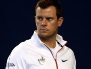 Leon Smith, pictured, was in Andy Murray's box for his five-set wins over Radek Stepanek and Mathias Bourgue