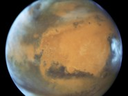 Scientists believe Mars is emerging from an ice age that ended some 370,000 years ago