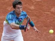 Aljaz Bedene, pictured, was beaten by Novak Djokovic in the third round of the French Open (AP)