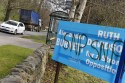 Conservative candidate posters near Banchory, have been vandalised with SNP written over it.