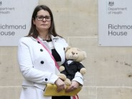 Melissa Mead, whose 12-month-old son William died from sepsis, says the Government is backing a public awareness campaign about the condition