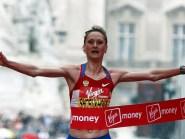 Liliya Shobukhova won the 2010 London Marathon