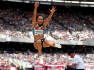 Jessica Ennis-Hill has played down her favourite tag to retain the Olympic heptathlon title in Rio next month