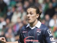 Jackson Irvine left Ross County to join Burton Albion.