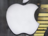 Apple shares were down after the fine by European Union regulators
