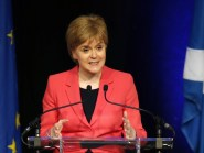 "First Minister Nicola Sturgeon said ""there are real fears that a UK Government outside the single market will seek a race to the bottom and erode these rights and protections"""