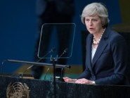 Theresa May accused the SNP of presiding over a nation where many are 'only just' getting by