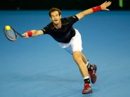 Andy Murray, pictured, could face Milos Raonic in the first round of the Davis Cup in February