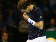 Andy Murray lost the opening rubber of the Davis Cup semi-final