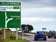 Transport bosses will invest thousands of pounds in an A90 study. (Picture: Kami Thomson)