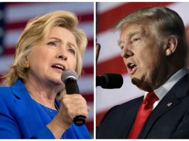 Hillary Clinton vs Donald Trump