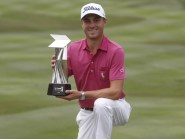 Justin Thomas was victorious in Kuala Lumpur for the second year in succession (AP)