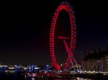 The famous London Eye is in Westminster in London