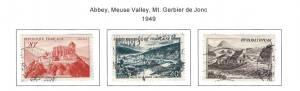 1949 France Stamps