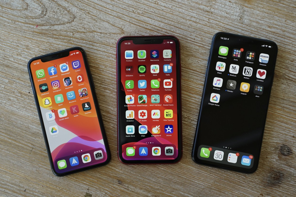 iPhone 11 Pro Max Face