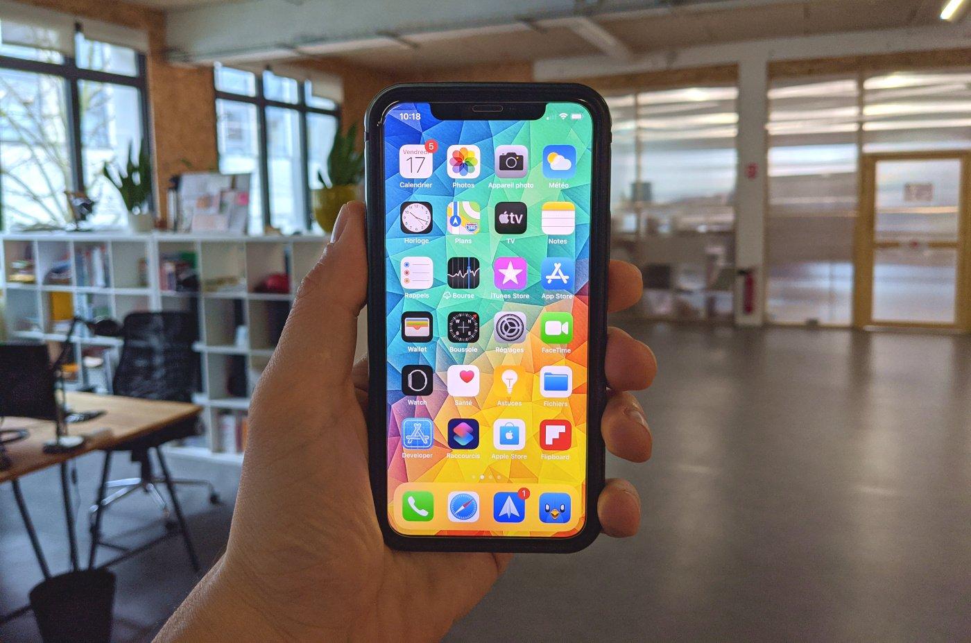iPhone 12 nouveau Face ID