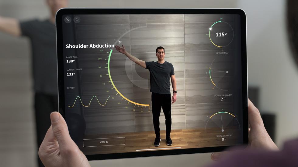 ARkit avec LIDAR sur l'iPad Pro